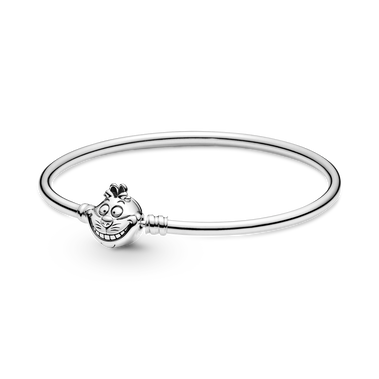 Disney Alice in Wonderland Cheshire Cat Clasp Pandora Moments Bangle