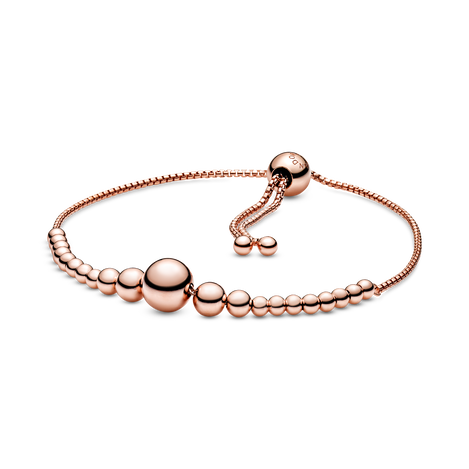 String of Beads Slider Bracelet
