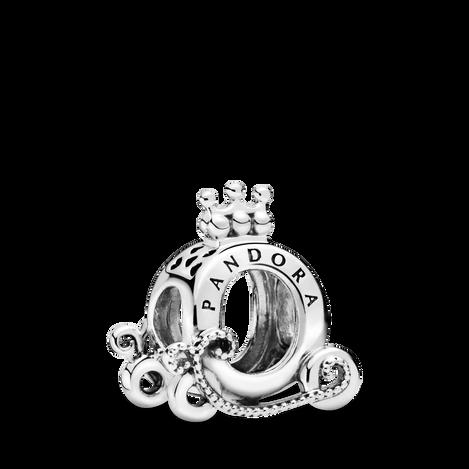 Polished Crown O Carriage Charm