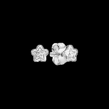 Sparkling Star Stud Earrings