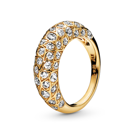 Pandora Shine Sparkling Pattern Ring