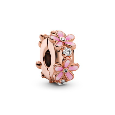 Pink Daisy Spacer Clip