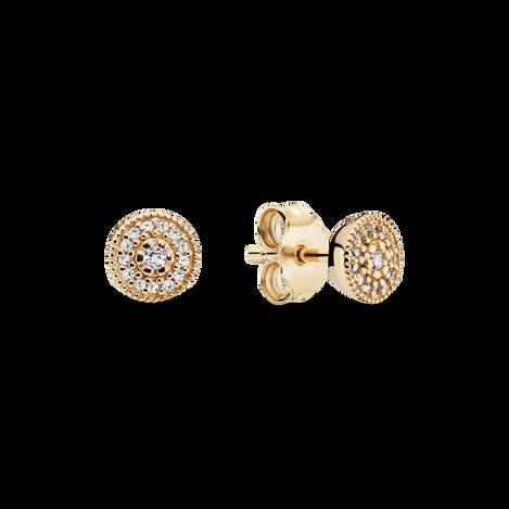Elegant Sparkle Stud Earrings