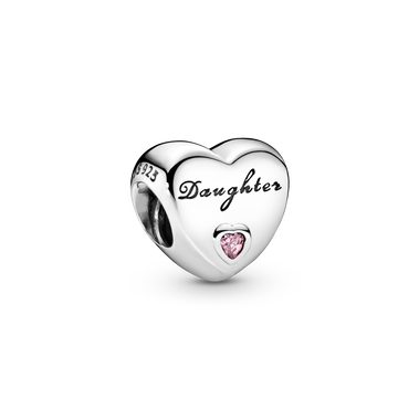 Daughter Heart Charm