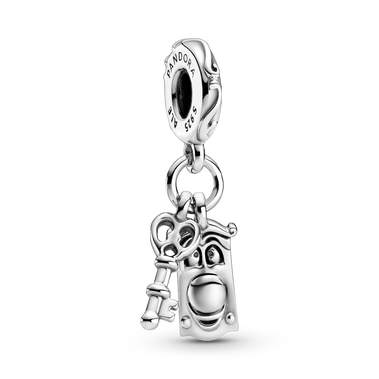 Disney Alice in Wonderland Key & Door Knob Dangle Charm