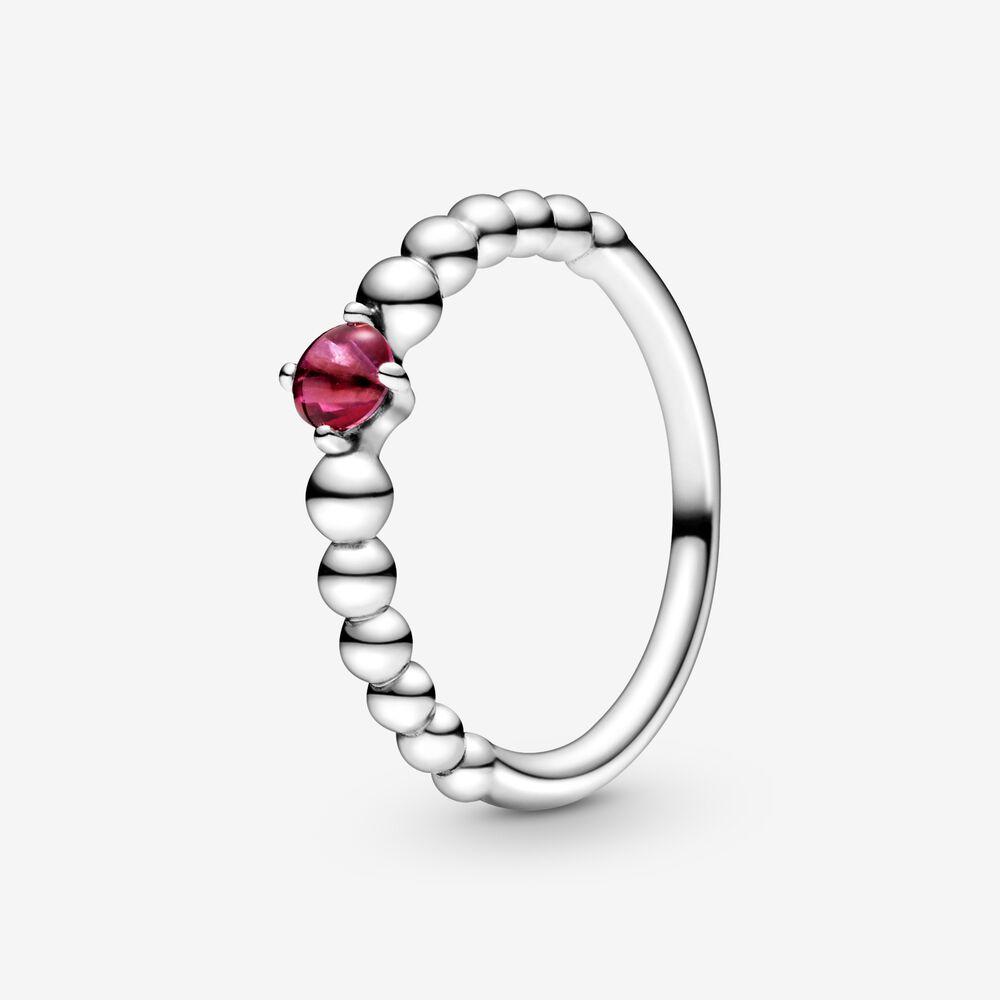 Passionate Red Beaded Ring Pandora Au