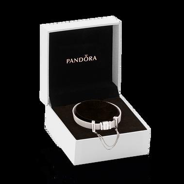 Pandora Reflexions Silver Bracelet & Safety Chain Gift Set