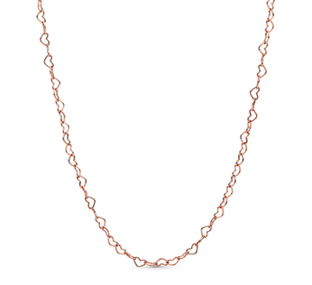 Joined Hearts Necklace