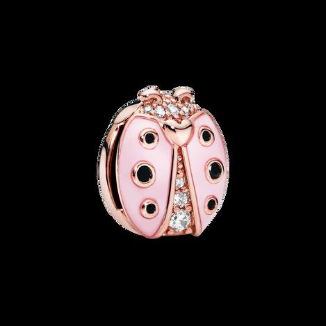 Pandora Reflexions Pink Ladybird Clip Charm