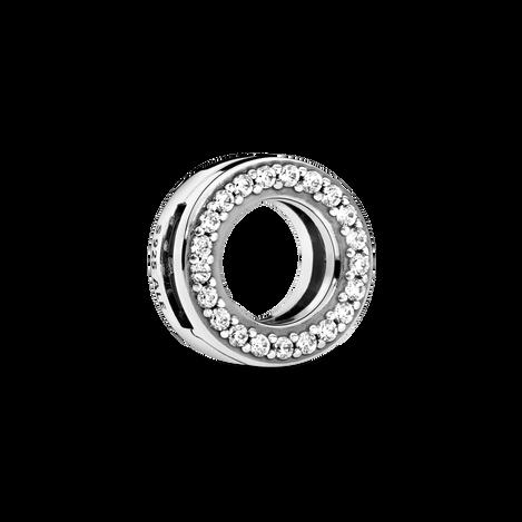 Circle of Pavé Clip Charm