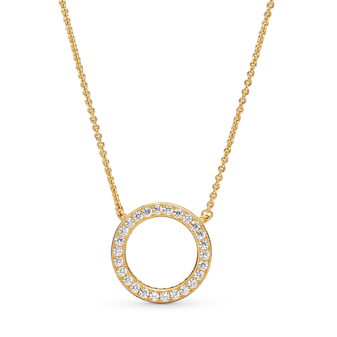 Circle of Sparkle Necklace