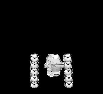 Row of Beads Stud Earrings