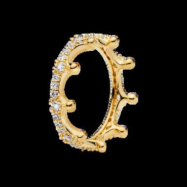 Sparkling Crown Ring