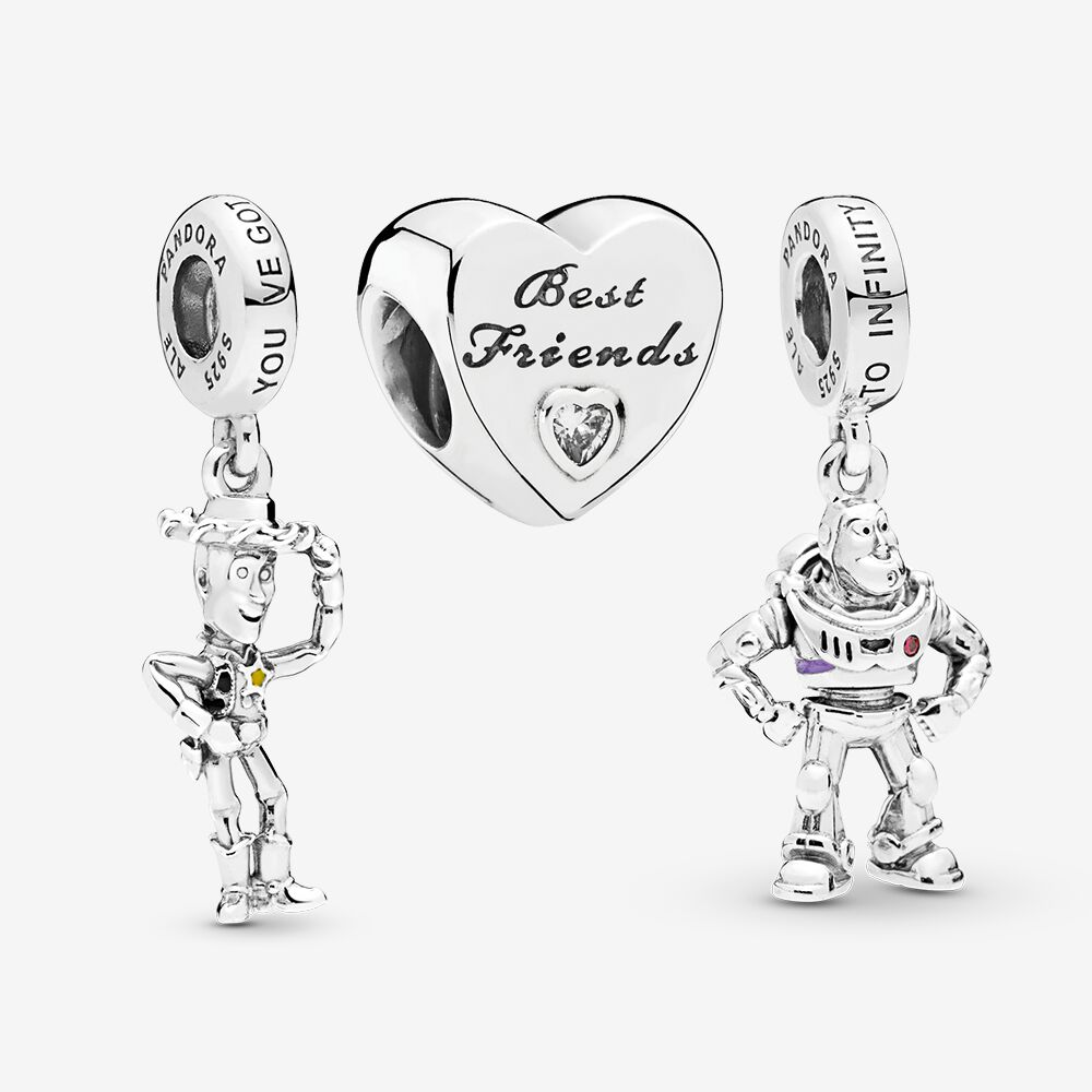 pandora charm best friend