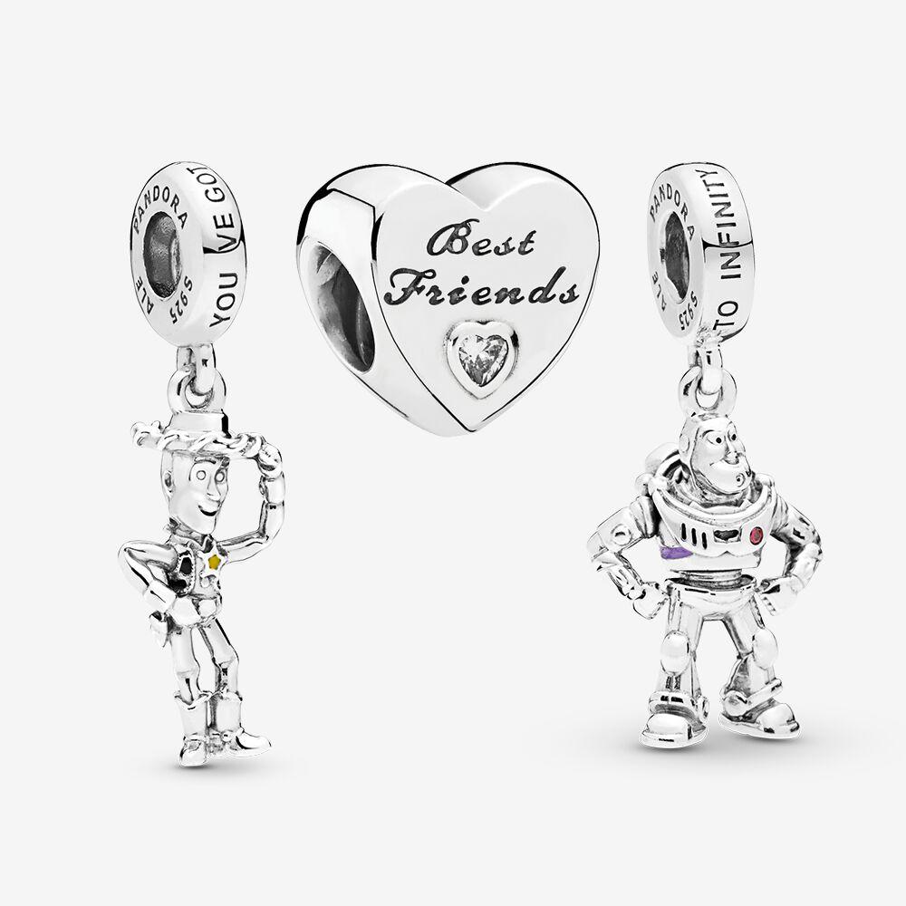 charm pandora best friends