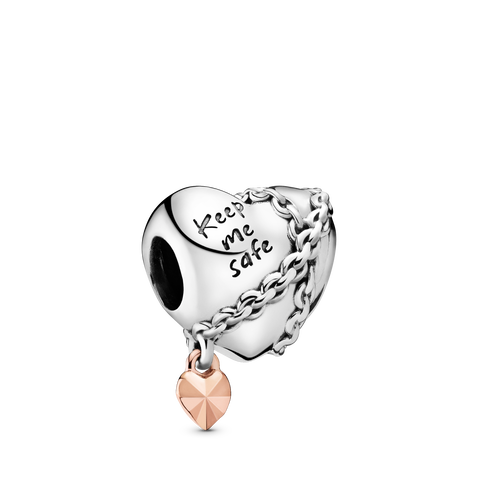 Pandora Rose Chained Heart Charm