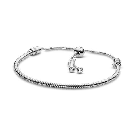 Pandora Moments Snake Chain Slider Bracelet