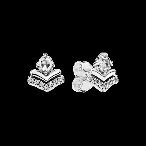 Classic Wishbone Stud Earrings