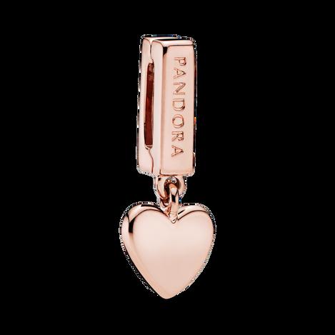 Pandora Reflexions Heart Dangle Clip Charm