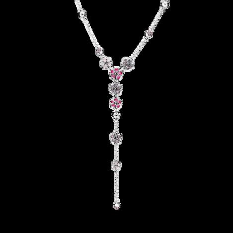 Peach Blossom Flower Necklace