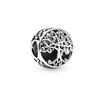 Family Roots Openwork Charm
