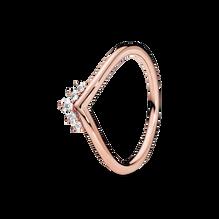 Pandora Rose Tiara Wishbone Ring