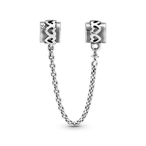 Pandora 2020 Limited Edition Heart Safety Chain Charm - Limit 1 Per Customer