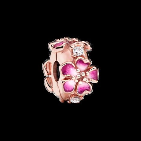 Pandora Rose Peach Blossom Flower Clip