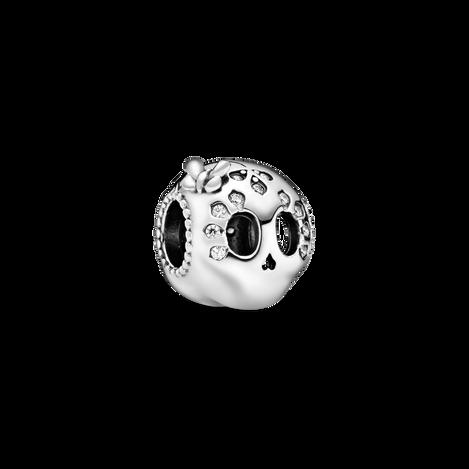 Sparkling Skull Charm