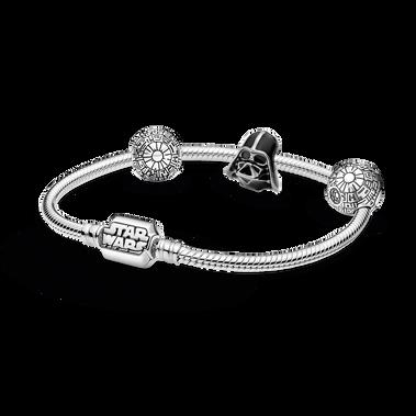 Star Wars™ Dark Side Charm and Bracelet Set