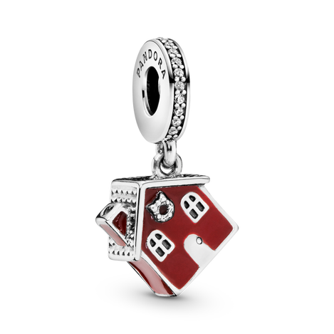 Christmas House Dangle Charm