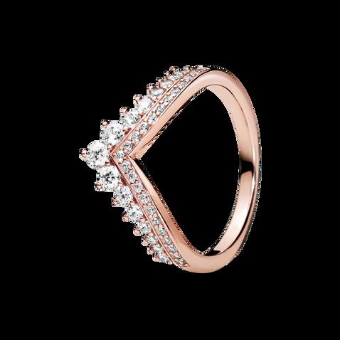 Pandora Rose Princess Wishbone Ring