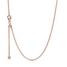 Pandora Rose Curb Chain Necklace