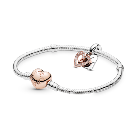 Pandora Rose Heart Bracelet Gift Set