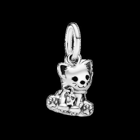 Kitty-Cat Dangle Charm
