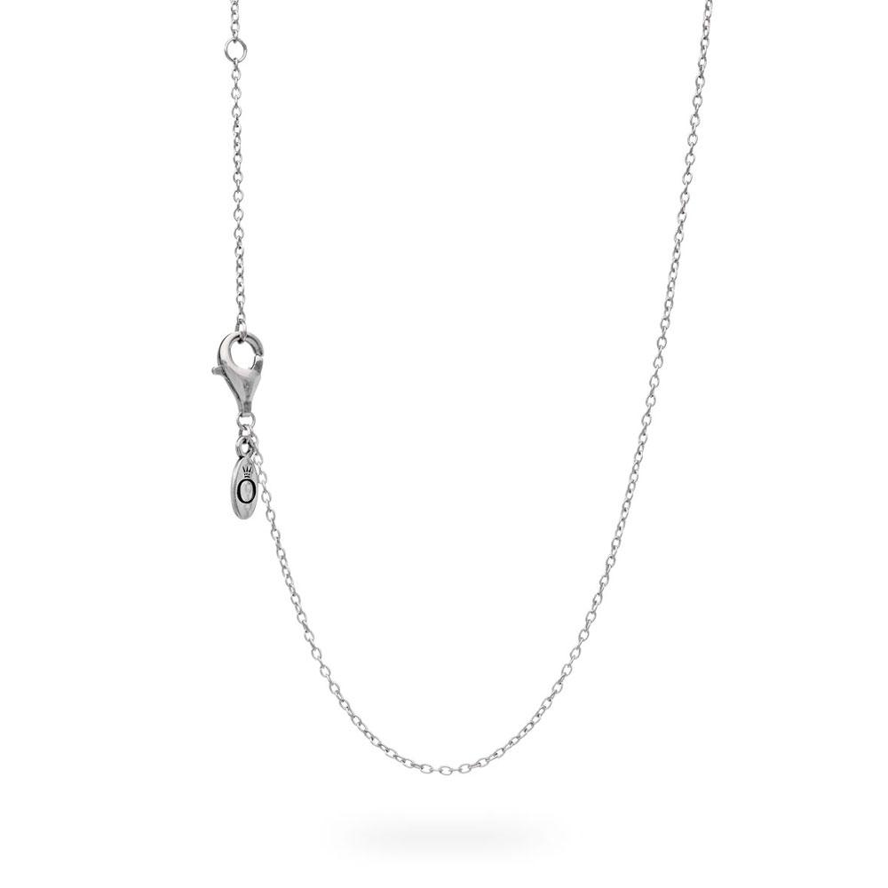 Silver Pandora Anchor Chain Necklace Silver No Other