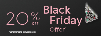 20% off Black Friday offer. Conditions and exclusions apply