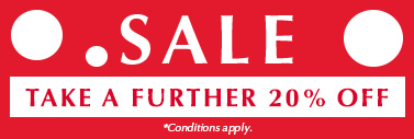 Take a further 20% off SALE Items