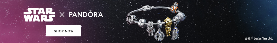 Shop the Stars Wars x Pandora Collection